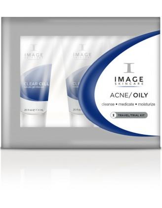 Дорожный набор для жирной кожи и кожи с акне - Oily/Acne Trial Kit