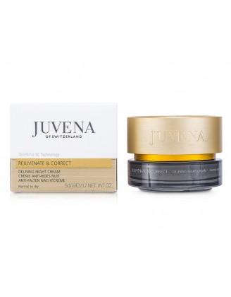 Delining Night Cream Normal to dry Ночной крем против морщин для нормальной и сухой кожи